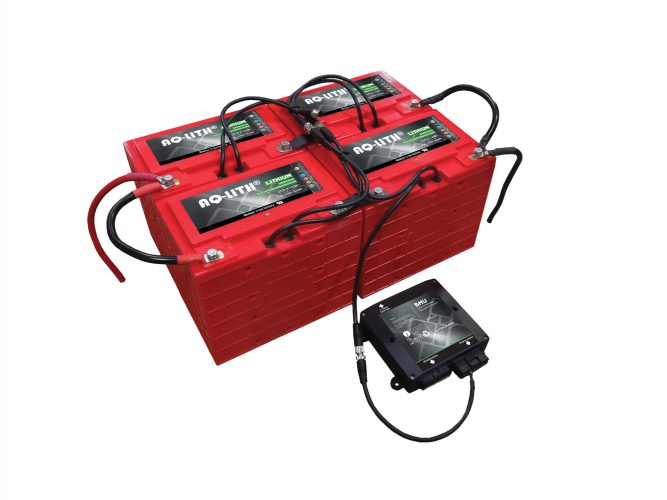 Battery Systems for AGV