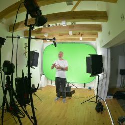 Das FTS/AGV-Videostudio ist fertig